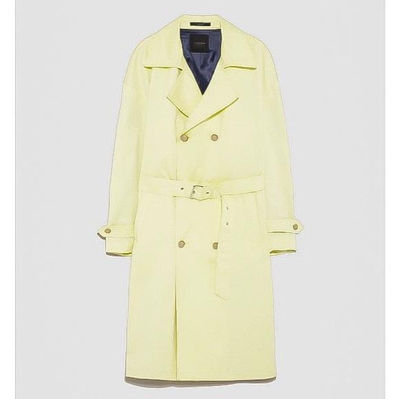 f85851c1 Zara Jackets & Coats | Oversize Technical Trench Coat | Poshmark